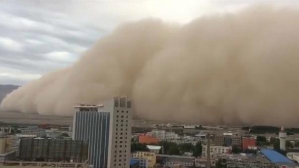 عاصفة الغبار