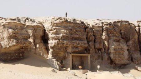 العثور على اكتشاف أثري جديد في محافظة المنيا المصرية